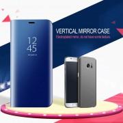 EH Modo De Sueño Smart Wake UP Flip Caso Del Teléfono Móvil Para Samsung Galaxy S8 Plus - Cielo Azul