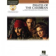 Hal Leonard Pirates of the Caribbean for Violin Play-Along