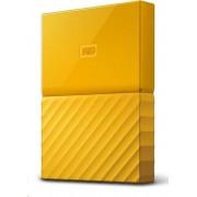 WD vanjski tvrdi disk My Passport 4 TB, žuti (WDBYFT0040BYL-WESN)