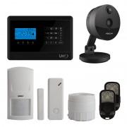 Defender Kit per la prevenzione con telecamera IP wireless Foscam C1 e kit Lite Antifurto M2E