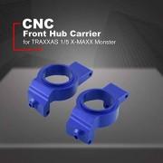 Dupa CNC Aluminium Alloy Front Hub Carrier Left & Right 2 Pcs for TRAXXAS 1/5 X-MAXX Monster Truck Car Parts Accessories