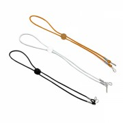 Set 3 bucati snur de prindere masca de protectie , din elastic,cu prindere in jurul gatului, negru, alb, portocaliu