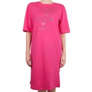 Molvy Dámská noční košile Molvy růžová L