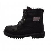Pantofi copii, din piele naturala, marca Hobby bimbo, 1-1, negru