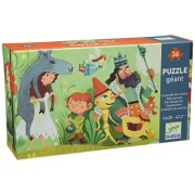 Djeco Giant Puzzle, Tales Parade (36 Pieces)