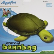 Aquafun Turtle Beanbag (available in 2 styles Turtle or Guppie) - Pool Toy / Float