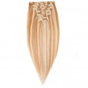 Rapunzel® Extensions Naturali Kit Clip-on Original 7 pezzi M7.4/8.0 Summer Blonde 50 cm