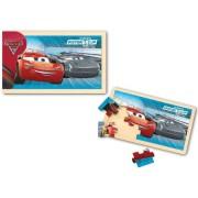 Cars 3_Puzzle din lemn 15 piese - NOD