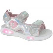 Beppi sandale za djevojčice Casual Sandal, 27, srebrne