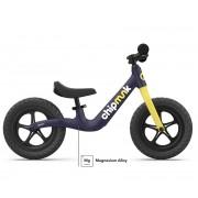 Dječji bicikl bez pedala ChipMunk tamno plavi aluminij/magnezij