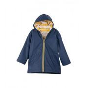 Hatley Splash Chaqueta para niño, Azul Marino/Amarillo, 4