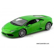 BBurago - Lamborghini Huracan LP 640-4 Hard Top (1/18 scale diecast model car, Green) 11038 diecast motorcycles and cars