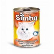 Hrana umeda pentru pisici Simba Cat Conserva Curcan, 415 g