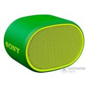 Sony SRS-XB01 Extra Bass Bluetooth bežični zvučnik, zeleni