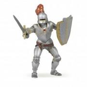 Figurina Papo - Cavaler in armura (rosu)