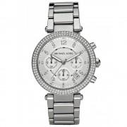 Michael Kors Ladies' Parker Chronograph Watch MK5353 Silver