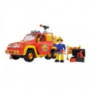 Set figurina Simba Fireman Sam cu masina de pompieri Venus si accesorii