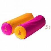 PRANA Pink + Narancs 2in1 kifordítható huzat 70x20 cm jóga hengerhez