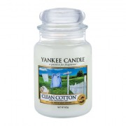 Yankee Candle Clean Cotton candela profumata 623 g unisex