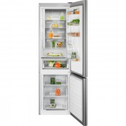 Combina frigorifica Electrolux LNT7ME34G1, No Frost, 360 L, H 201 cm, Control electronic, Racire rapida, Inghetare rapida, Clasa energetica A++, Sticla alba
