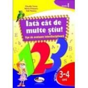 IATA CAT DE MULTE STIU - fise de evaluare transdisciplinara nivelul 1 - grupa mica 3-4 ani