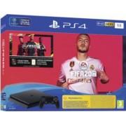 Consola SONY PlayStation 4 Slim 1TB + Joc FIFA 20 + PS Plus 14 zile + Voucher FIFA Ultimate Team