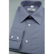 Pánská košile SLIM modrá bílá proužkovaná Avantgard 115-1801-43/44/182