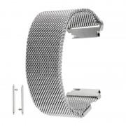 18mm magnetische Milanese Loop RVS magneet sluiting Lock armband Strap Band voor Huawei Watch