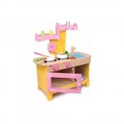 Legler Dětská dřevěná kuchyňka na hraní Legler Nena