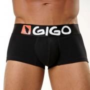 Gigo LOGO Short Boxer Underwear Black