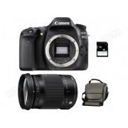 CANON EOS 80D + SIGMA 18-300 OS HSM Contemporary + Sac + SD 4Go