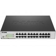 SWITCH, D-LINK DGS-1100-24P, 24-Port, PoE, Gigabit, Smart