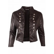 Jacket K5002 LEATHER LOOK