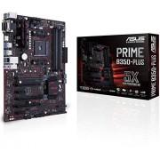 Asus Prime b350-plus moederbord socket AM4 (atx, AMD b350, Ryzen, 4x ddr4 geheugen, 6x sata 6 gb/s)