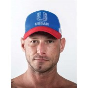 Mister B Urban Hat Blue/Red/White 820002