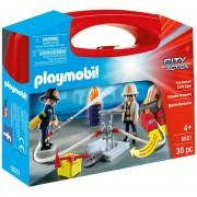 Bomberos Rescatadores Manguera Accesorios Playmobil Juguete