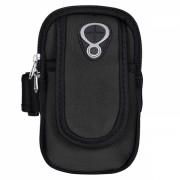 Husa brat sport pentru telefon si alte accesorii 4.7/5.5 inchi, negru