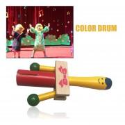Eb YB10-4 Madera Instrumento Musical Niza Sonido Handheld Golpear Juguetes Educativos