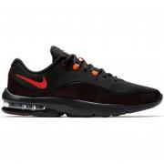 Tenis Running Hombre Nike AIR Max Advantage 2-Negro Con Naranja