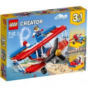 Set de constructie LEGO Creator Avionul de Acrobatii