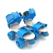 Tavakkal Roller Skates for Kids Age Group 5-10 Years Adjustable Inline Skating Shoes (Blue)
