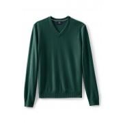 ランズエンド LANDS' END メンズ・ランズエンド・カシミヤ/Vネック/長袖(フレッシュスプルース)