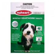Heartgard Plus Generic Nuheart Medium Dogs 26-50lbs (Green) 12 Tablet