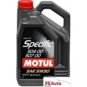 Ulei motor MOTUL Specific VW 504.00 / 507.00 5W30 5L