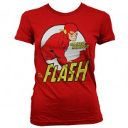 The Flash - Fastest Man Alive Girly T-Shirt