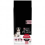 Pro Plan Medium Puppy Sensitive OptiDerma con salmón - Pack % - 2 x 12 kg