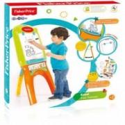 Tabla magnetica de jucarie pentru copii Fisher Price + Joc de carti Domino Cadou