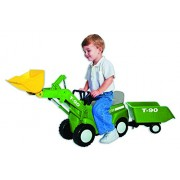 Skyteam Farm Tractor with Big Scoop and Trailer Ride-On