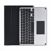 HW3028-2 Bluetooth Removable Keyboard Leather Cover for Huawei MediaPad T5 10 / Honor Pad 5 10.1 inch / Enjoy Pad 10.1 inch - Black