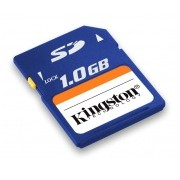 Memoria Flash Kingston, 1GB SD